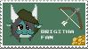 Brigitha Fan Stamps by FanDragonBrigitha