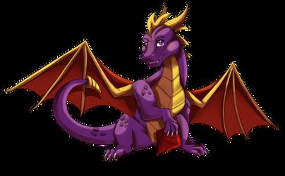 (Fanart) Spyro The Dragon by FanDragonBrigitha