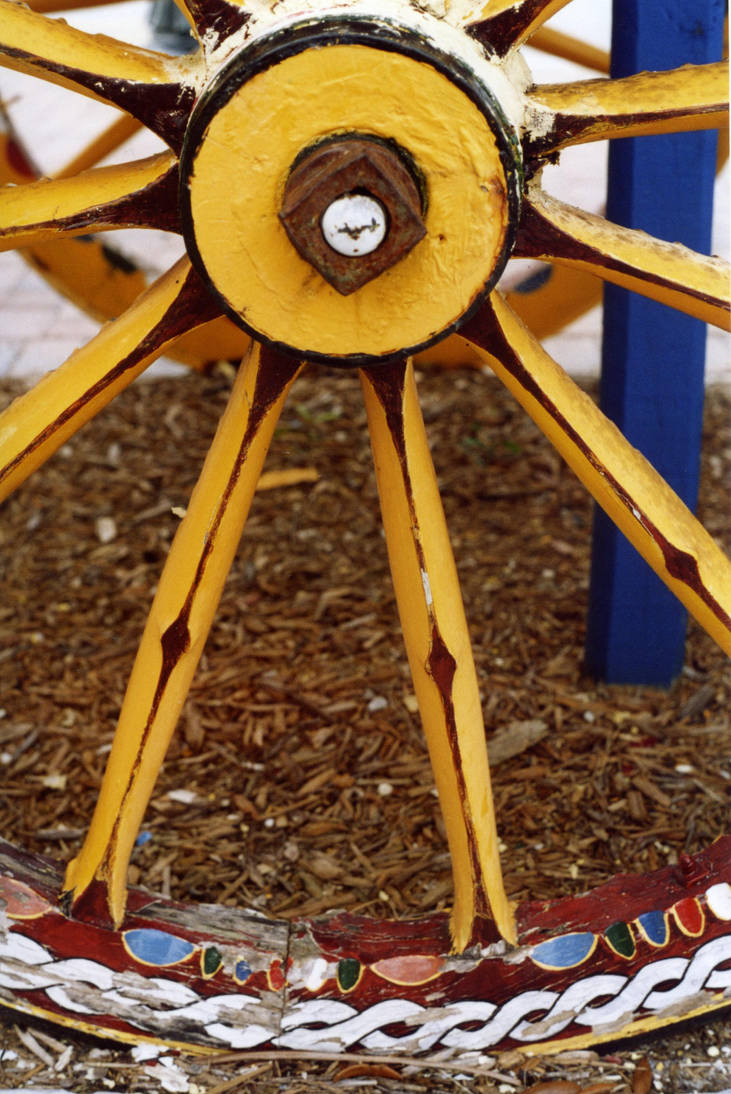 Wagon Wheel Stock by Limner-stock