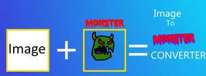 Image to Monster Converter by russellsterlingdyer