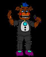 Raptime Freddy(A.K.A. Fred E-J) by russellsterlingdyer