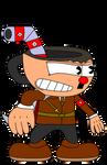 Inglorious Cupdolf Headler by russellsterlingdyer