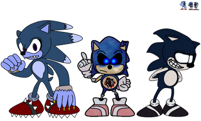 3 Horror Sonics by russellsterlingdyer