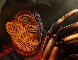 Freddy Krueger by ChristopherCrow