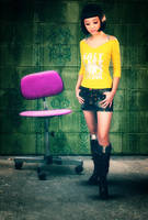The girl and the chair by ladyang
