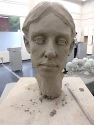 woman head by kphill