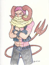 One Piece: Demon Katakuri from Together by SUSHIFREAK101