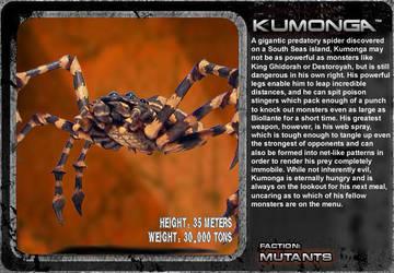 G Unleashed: Kumonga by MegaZeo