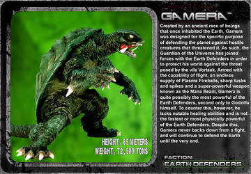 G Unleashed: Gamera by MegaZeo