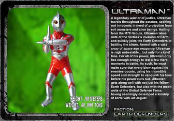 G Unleashed: Ultraman by MegaZeo