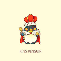 King Penguin by Syllie