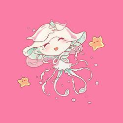 Suzy Jellyfish mermaid by Syllie