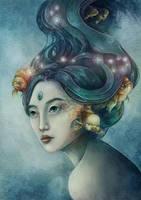 Zodiac Pisces by Syllie