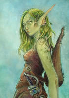 Spring Eldarin by Syllie