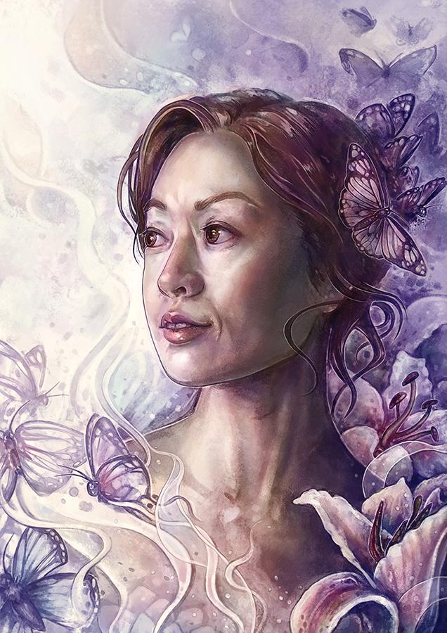 portrait commission by Syllie