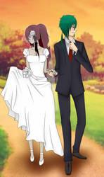 Rinya and Takeo wedding. c: by TakeoYamamoto
