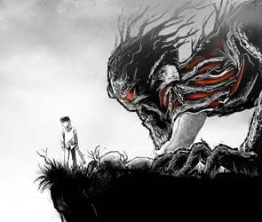 A Monster Calls by hobzart