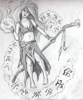 Sorceress by J2040
