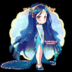 Annietine: Rench Angelfish by Neko-Rina