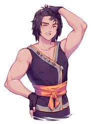 Workout Cole by Neko-Rina