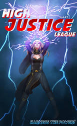 High Justice League Cover by swtorramblings