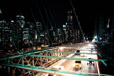 the lights of NY by Lilianne