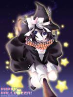 Witch Rukia Coloured by Kaze-Hime