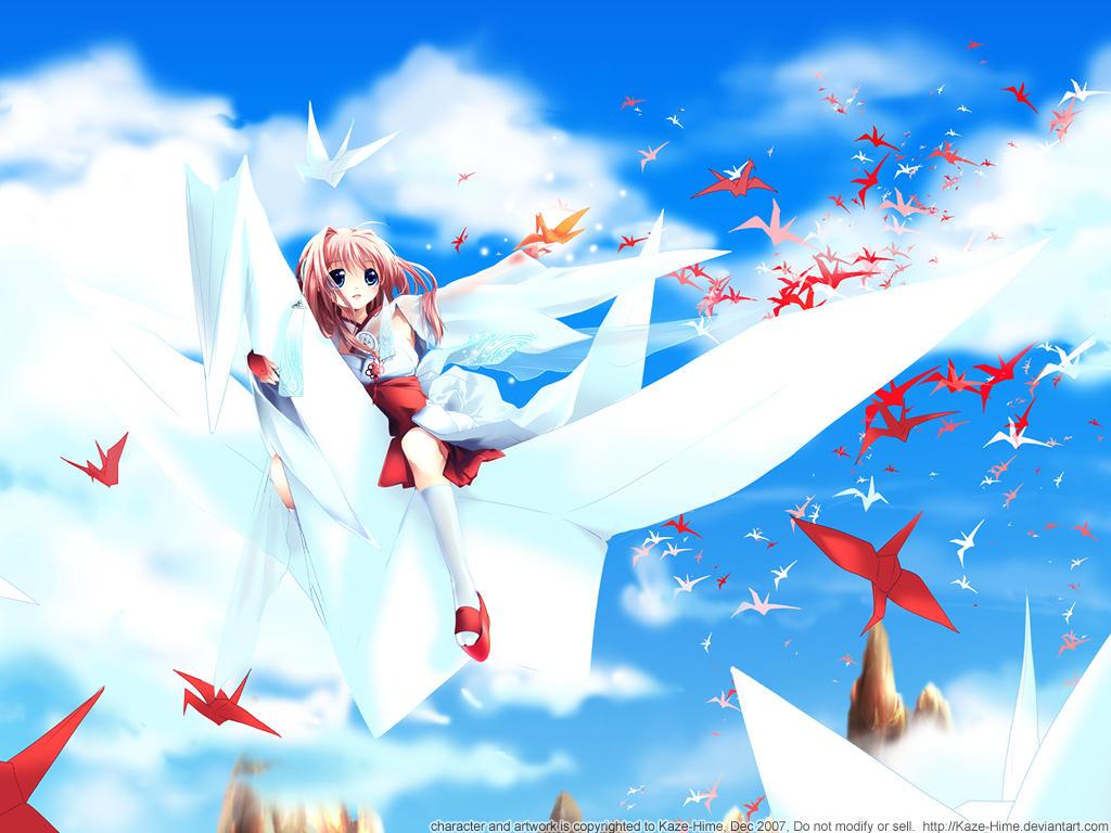 A Thousand Cranes by Kaze-Hime