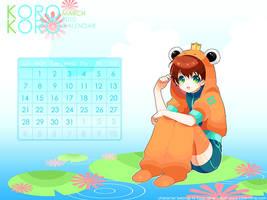 March: Korokoro Calendar by Kaze-Hime