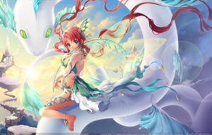Invigorating Light by Kaze-Hime