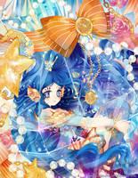 Bottle Fairy by Kaze-Hime