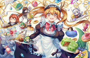 Maid Cafe by Kaze-Hime