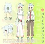 Yodachishi: Character Sheet 01 by Kaze-Hime