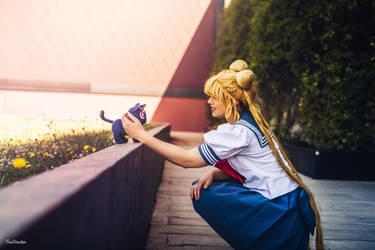 Usagi Tsukino - Sailor Moon by FoxDirector