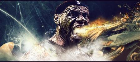 LeBron James Signature by The-Potara-Fusion