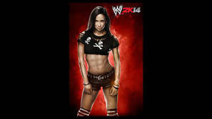 WWE 2K14 AJ Lee Render by ThexRealxBanks