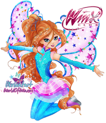 Winx Club 8 - Bloom COSMIX Transformation by WorldOfWinxers