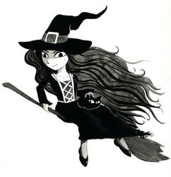 Witch by Odomi2