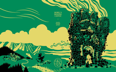 Howls moving castle cover design by Odomi2