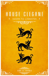 House Clegane by LiquidSoulDesign