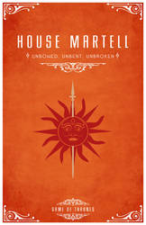 House Martell by LiquidSoulDesign