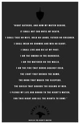 Night's Watch Oath by LiquidSoulDesign