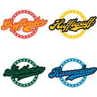 Hogwarts House Logos by LiquidSoulDesign