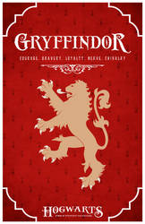House Gryffindor Poster by LiquidSoulDesign