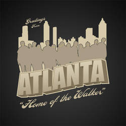 Greeting from Atlanta by LiquidSoulDesign