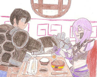 A Simple Talk at A Simple Wok by Dark-Dullahan
