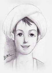 Sindbad Sketching by hassankahdum