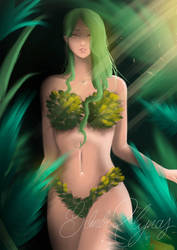 Forest Lady (practicing painting)  by ArtiSom