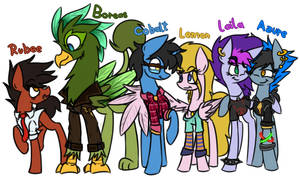 The school gang by Karpy96