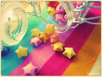 Starry Jar by MocchiMocchi